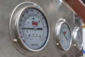 Baker Refrigeration Gauge