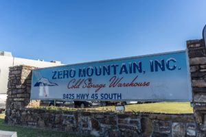 Zero Mountain Cold Storage